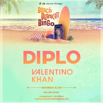 Beach Blanket Bingo Ft. Diplo - COLUMBUS: Main Image