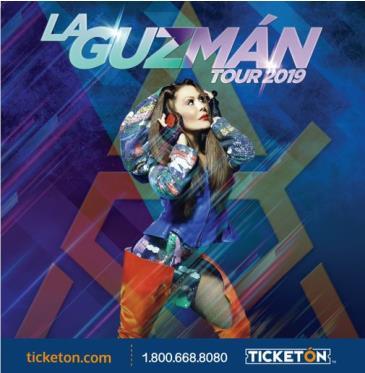 LA GUZMAN TOUR 2019: Main Image