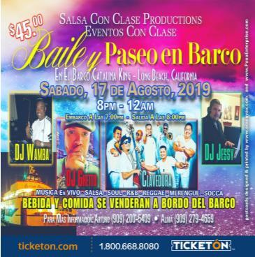 BAILE Y PASEO EN BARCO: Main Image