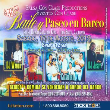 BAILE Y PASEO EN BARCO