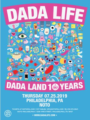 DADA LIFE: DADA LAND 10 YEARS TOUR: Main Image