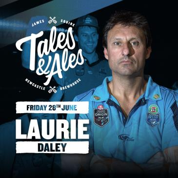 TALES & ALES - Laurie Daley: Main Image