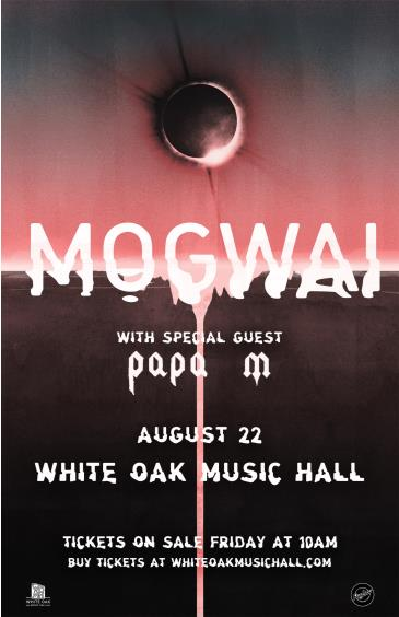 Mogwai with special guest Papa M: Main Image