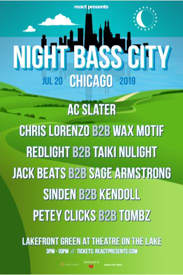 Night Bass City (OUTDOOR): Main Image