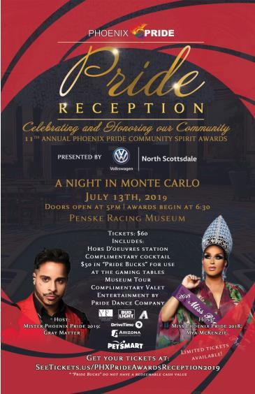 Phoenix Pride Awards Reception: Main Image