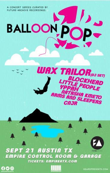 BALLOON POP ft. Wax Tailor (DJ Set), Blockhead + More!: Main Image