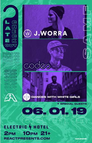 Late Check-Out: J Worra | Codes | Dances With White Girls: Main Image