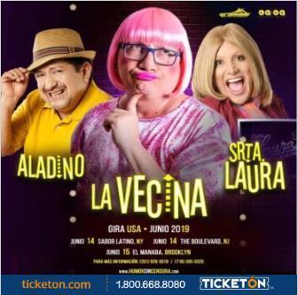 "2 DIVAS DEL HUMOR JUNTAS ""LA VECINA & LA SRTA LAURA"": Main Image"