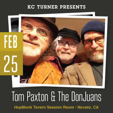 Tom Paxton & The DonJuans + Amy Speace: Main Image