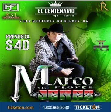 MARCO FLORES Y LA JEREZ: Main Image
