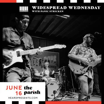 Widespread Wednesday with Panic Stricken-img