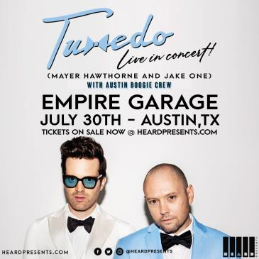 Tuxedo (Mayer Hawthorne & Jake One) with Austin Boogie Crew: Main Image