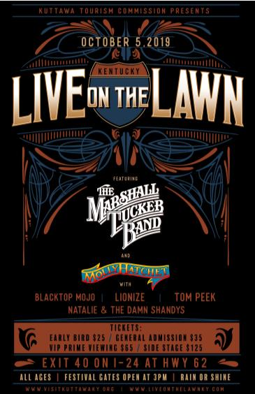 Live on the Lawn feat. The Marshall Tucker Band: Main Image