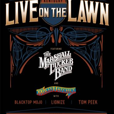 Live on the Lawn feat. The Marshall Tucker Band-img