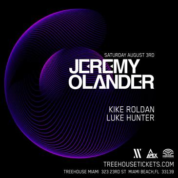 Jeremy Olander @ Treehouse Miami: Main Image