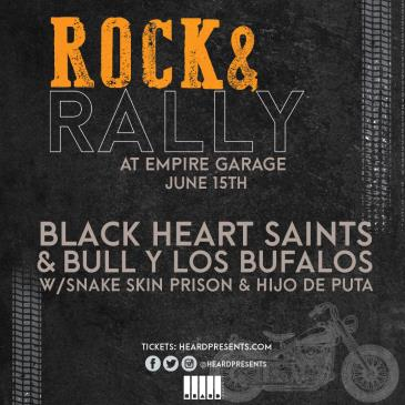 Rock & Rally: Black Heart Saints & Bull Y Los Búfalos: Main Image