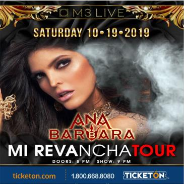 ANA BARBARA MI REVANCHA TOUR: Main Image