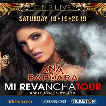 ANA BARBARA MI REVANCHA TOUR