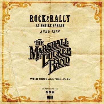 Rock & Rally: Marshall Tucker Band with Croy and The Boys: Main Image