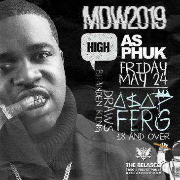 "A$AP Ferg ""MDW2019"" at the Belasco: Main Image"