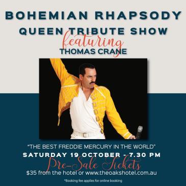Bohemian Rhapsody- Queen Tribute Show: Main Image