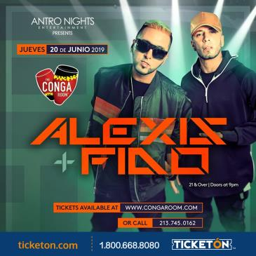 ALEXIS Y FIDO en CONGA ROOM Los Angeles!: Main Image