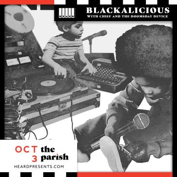 Blackalicious with Chief and The Doomsday Device: Main Image
