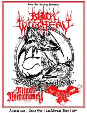 Black Witchery, Ritual Necromancy, BHL: Main Image