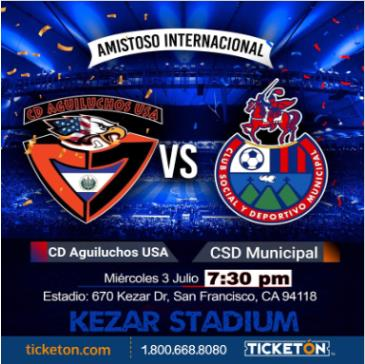 CD AGUILUCHOS VS CSD MUNICIPAL: Main Image