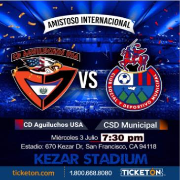 CD AGUILUCHOS VS CSD MUNICIPAL