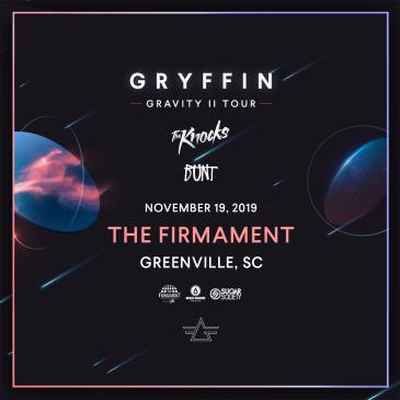 GRYFFIN presents GRAVITY II TOUR - GREENVILLE: Main Image