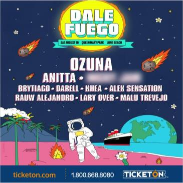 DALE FUEGO WITH OZUNA, ANITTA + MORE!
