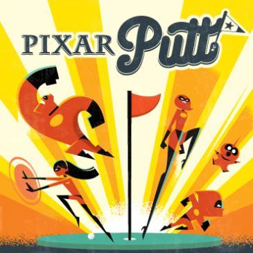 Pixar Putt Brisbane