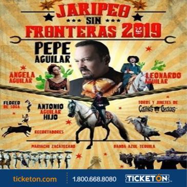 PEPE AGUILAR JARIPEO SIN FRONTERAS 2019