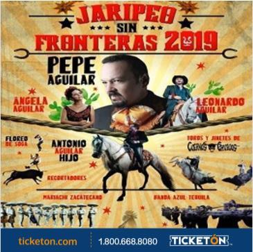 PEPE AGUILAR JARIPEO SIN FRONTERAS 2019: Main Image