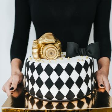 Cake Decorating - Geometric Designs-img