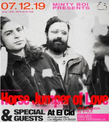 Horse Jumper of Love Los Angeles Debut: Main Image