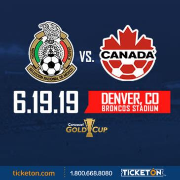 MEXICO vs CANADA CONCACAF GOLD CUP
