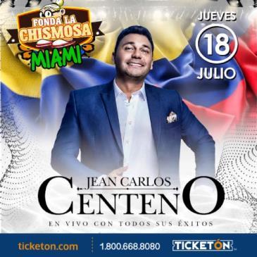 """JEAN CARLOS CENTENO """"DE PARRANDA"""""""