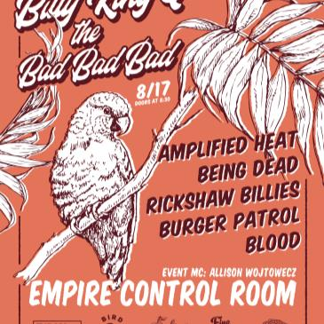 Billy King & the BBB with Being Dead, Amplified Heat + more-img