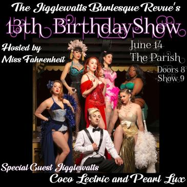 The Jigglewatts Burlesque: 13th Birthday Show: Main Image