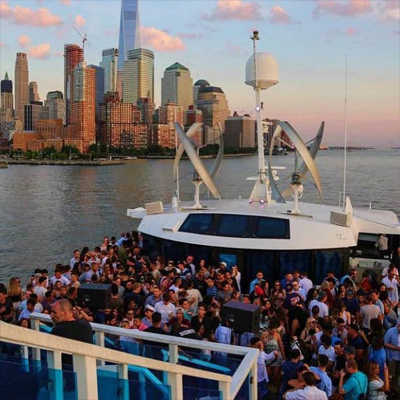 NYC Cruise Party at Skyport Marina Jewel Yacht Sat 8/17 Booze Cruise Tickets Party | GametightNY.com