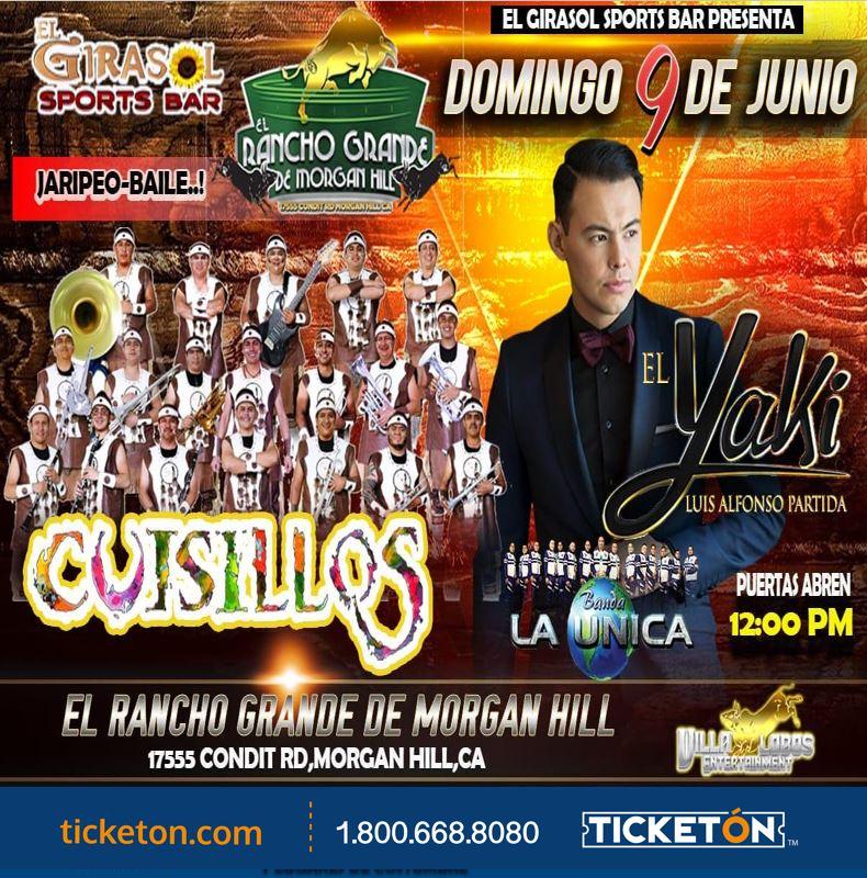 Jaripeo Baile con El Yaki Rancho de Morgan Hill Tickets