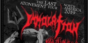 "Immolation  ""The last Atonement Tour"": Main Image"