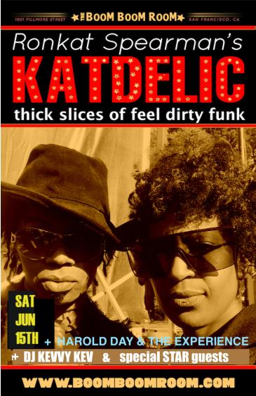 "KATDELIC (""True Funk Party"") +  HAROLD DAY 'n THE EXPERIENCE: Main Image"