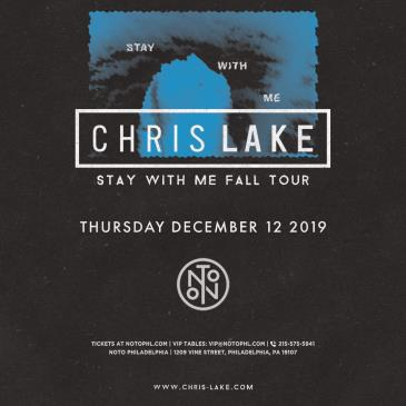 Chris Lake: Stay With Me Tour: Main Image