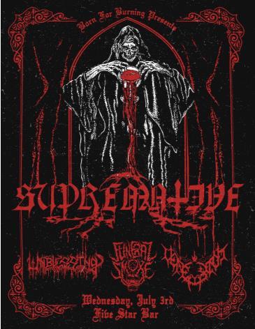 Supremative (Spain), Unblessing, Funeral Smoke, Veneraxiom: Main Image