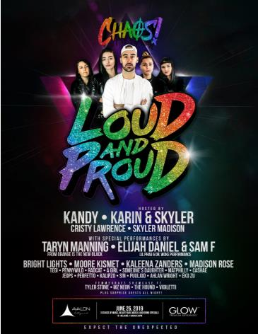 LOUD AND PROUD LA (CANCELLED): Main Image