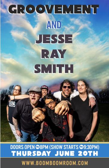 GROOVEMENT + JESSE RAY SMITH BAND: Main Image