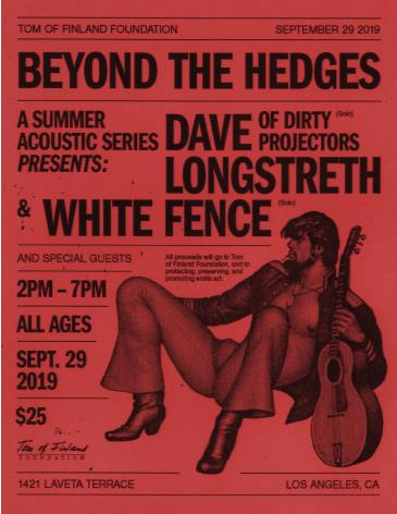Beyond the Hedges with Dave Longstreth aka Dirty Projectors: Main Image